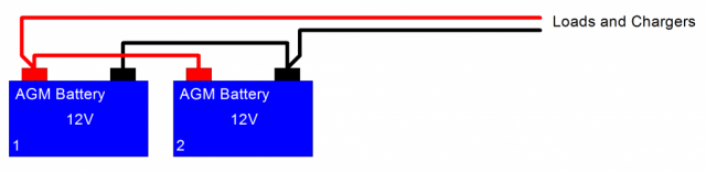 Battery-paralel