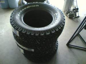 New tyre stack