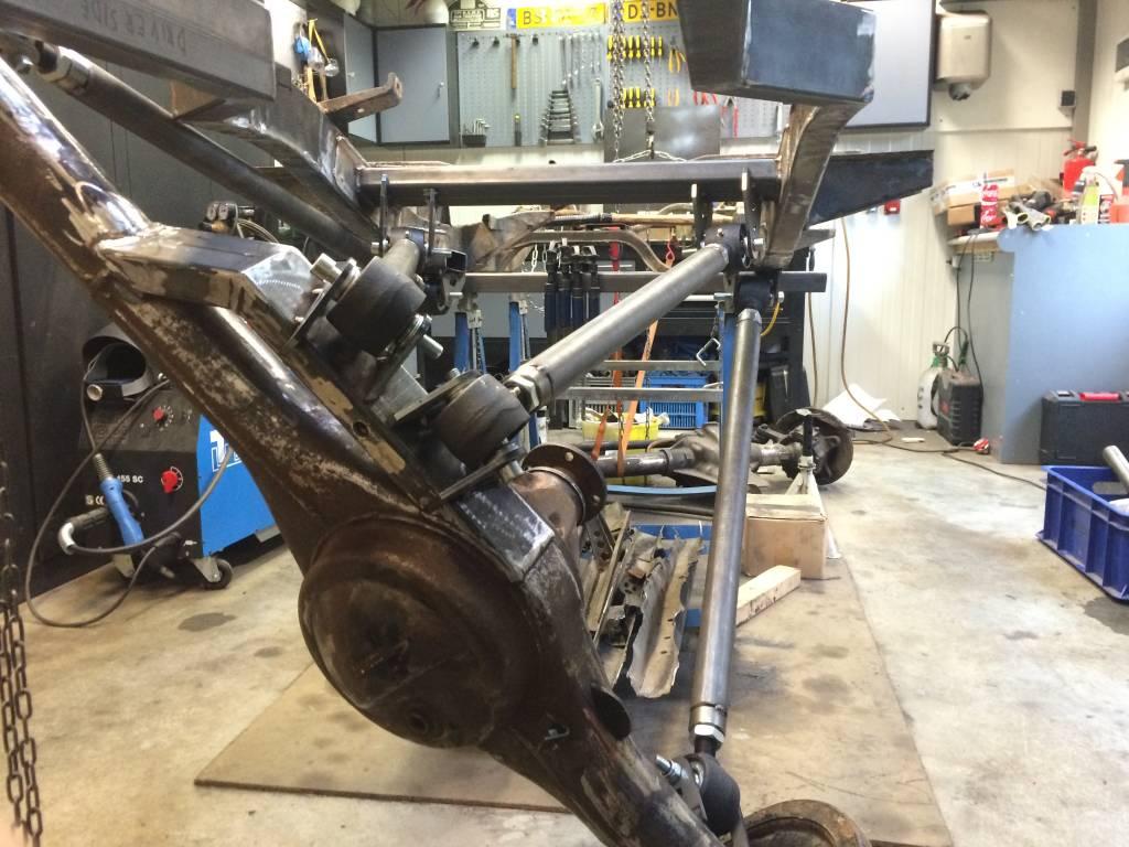 Part 13 4 Link Suspension Rear Axle Suzuki 4wd