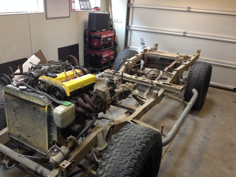 Part 3 Separate Body From The Chassis Suzuki 4wd