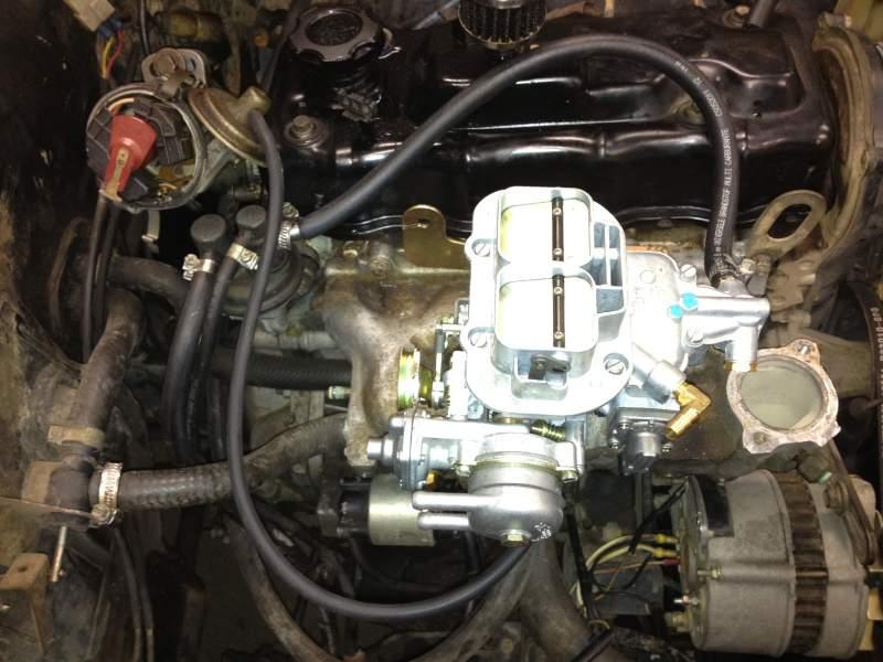 Weber carburetor - SUZUKI-4WD