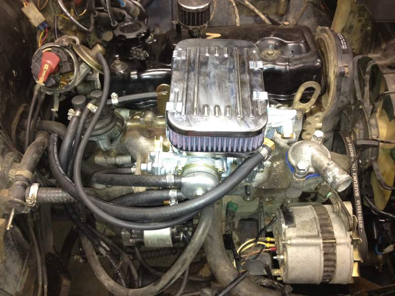 Suzuki Samurai Weber Carburetor