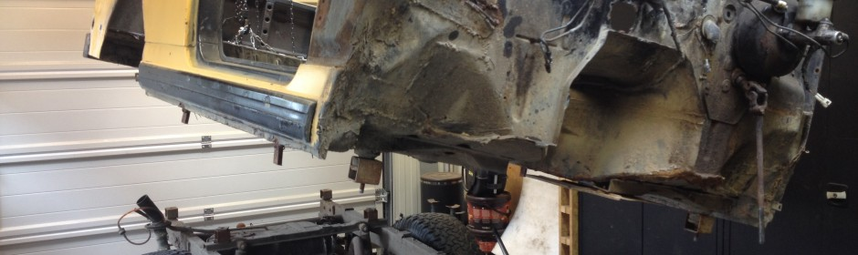 Part 3: Separate body from the chassis