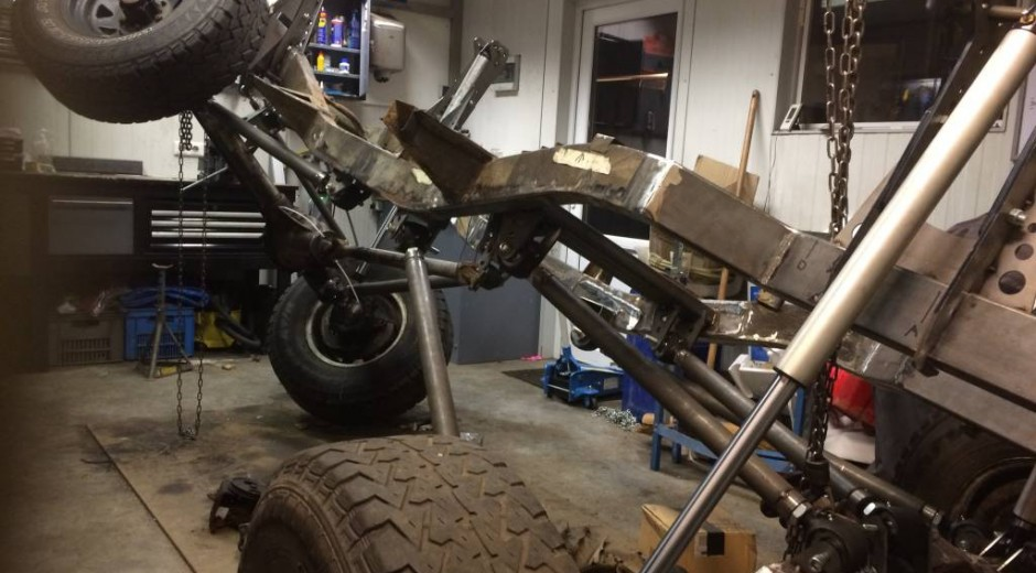 Part 17: Front shock towers & Result
